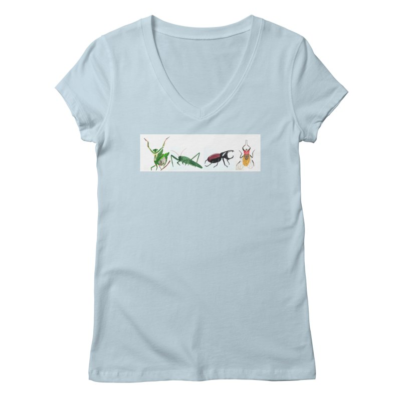 YMCA Women's V-Neck by Whimsical Wildlife Wares