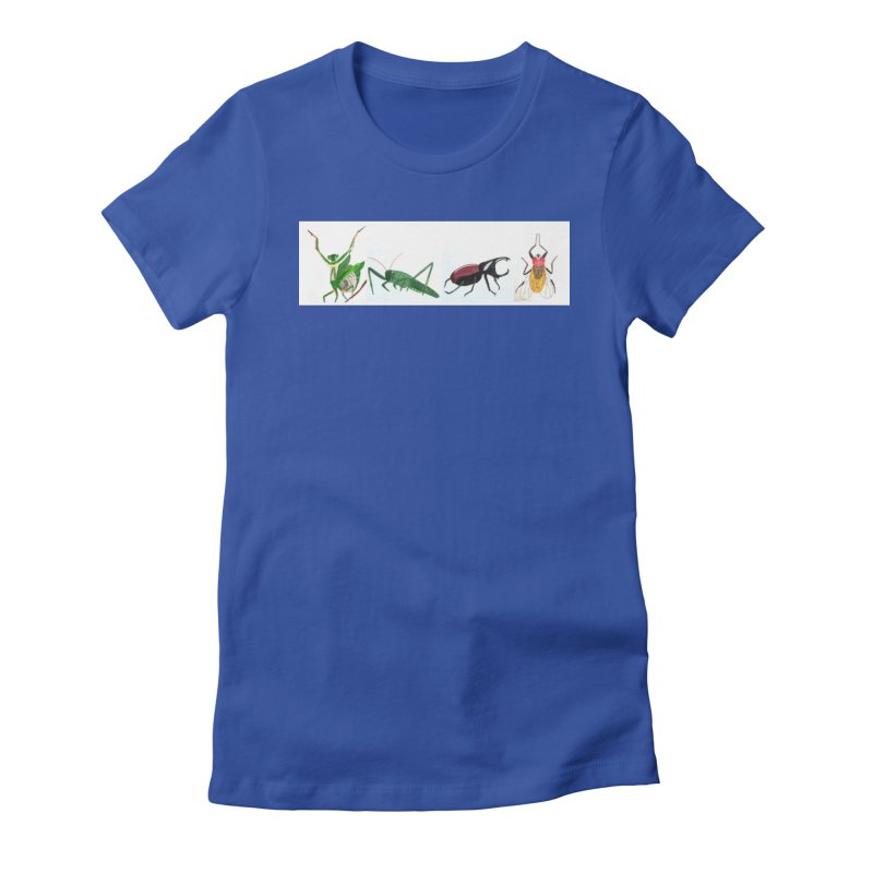 YMCA Women's Fitted T-Shirt by Whimsical Wildlife Wares