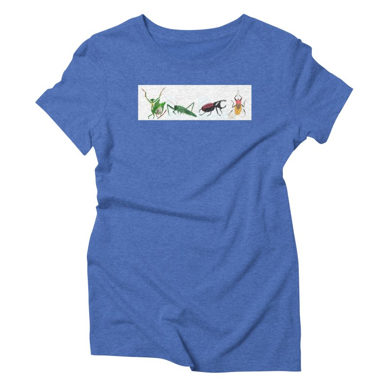 YMCA Women's Triblend T-shirt by Whimsical Wildlife Wares