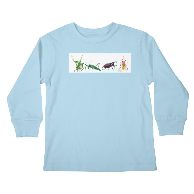 YMCA Kids Longsleeve T-Shirt by Whimsical Wildlife Wares