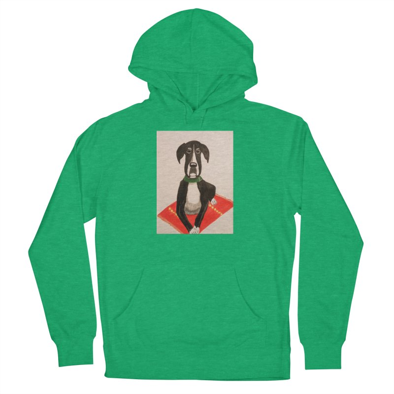 Great Dane Men's Pullover Hoody by Whimsical Wildlife Wares