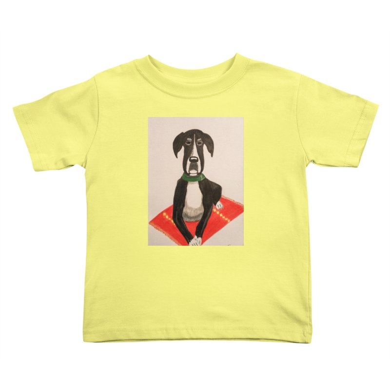 Great Dane Kids Toddler T-Shirt by Whimsical Wildlife Wares