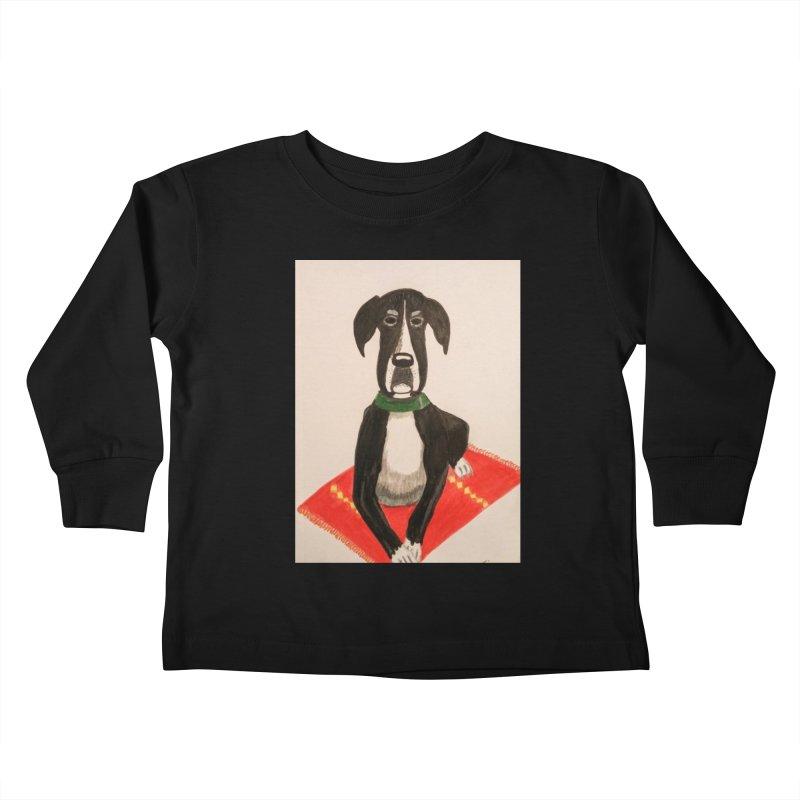 Great Dane Kids Toddler Longsleeve T-Shirt by Whimsical Wildlife Wares