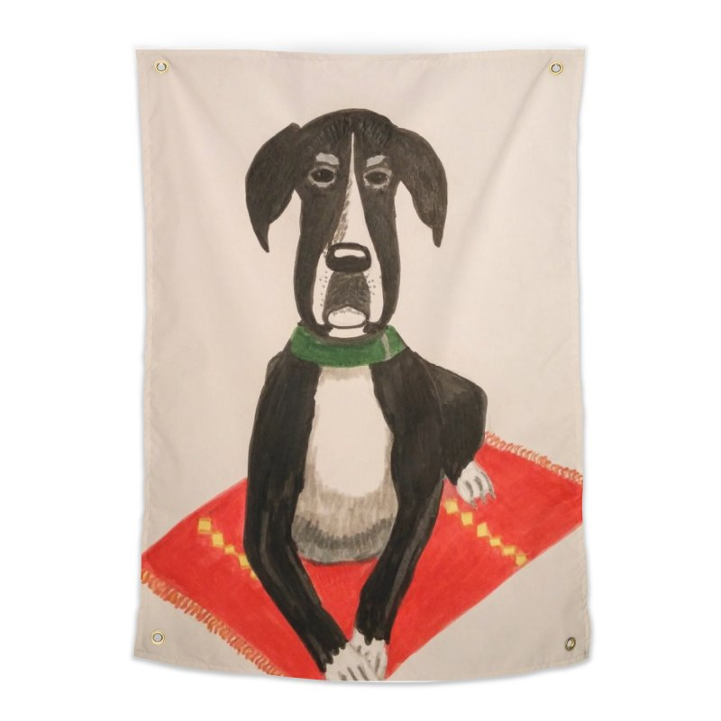 Great Dane Home Tapestry by Whimsical Wildlife Wares