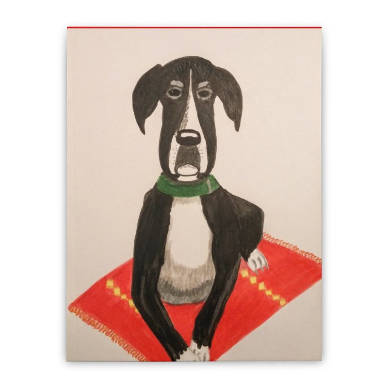 Great Dane Home Stretched Canvas by Whimsical Wildlife Wares