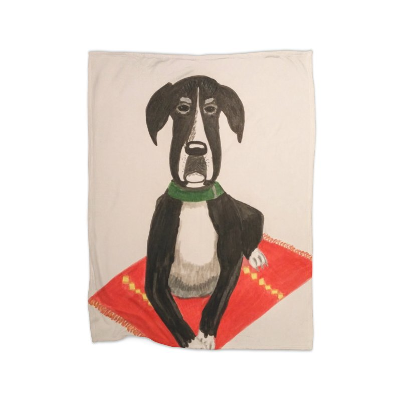 Great Dane Home Blanket by Whimsical Wildlife Wares