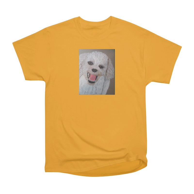 Golden Doodle Men's Classic T-Shirt by Whimsical Wildlife Wares
