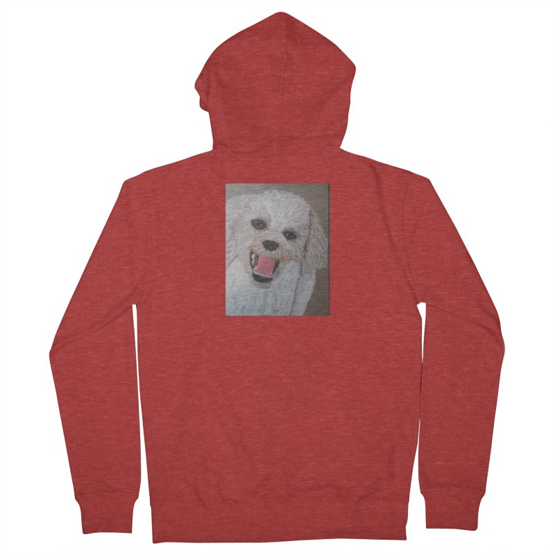 Golden Doodle Men's Zip-Up Hoody by Whimsical Wildlife Wares