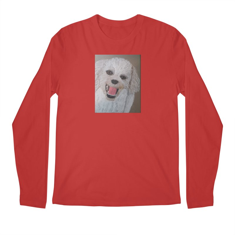 Golden Doodle Men's Longsleeve T-Shirt by Whimsical Wildlife Wares