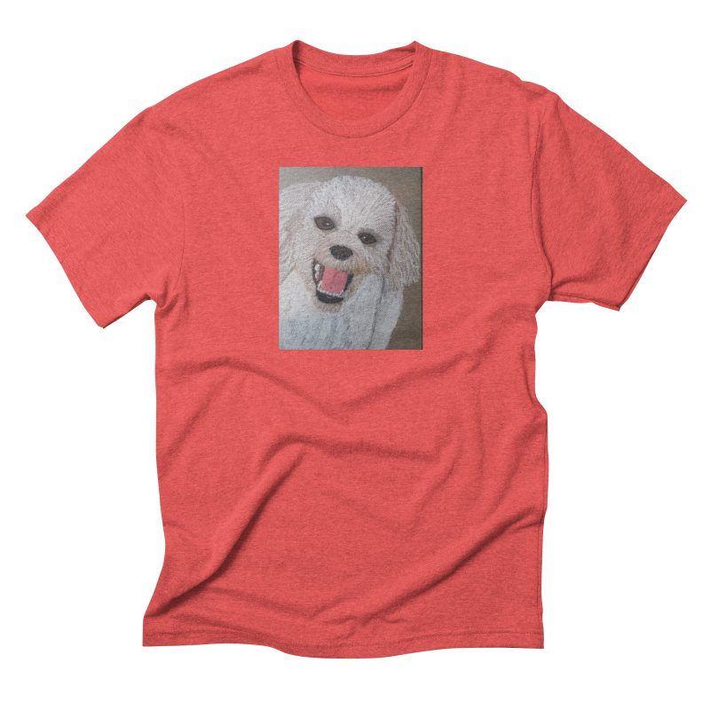 Golden Doodle Men's Triblend T-shirt by Whimsical Wildlife Wares