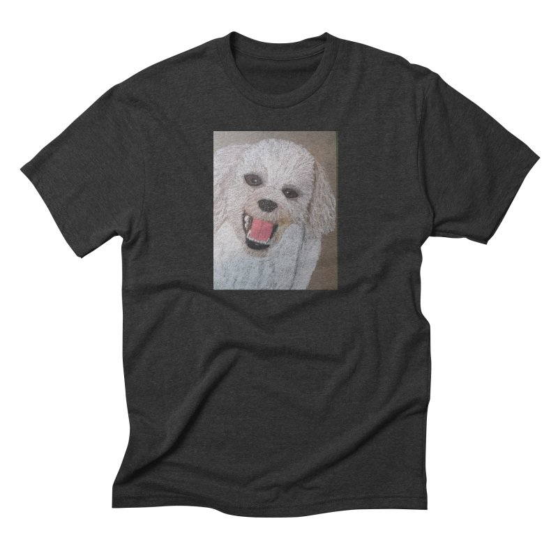 Golden Doodle Men's Triblend T-shirt by Whimsical Wildlife Wares