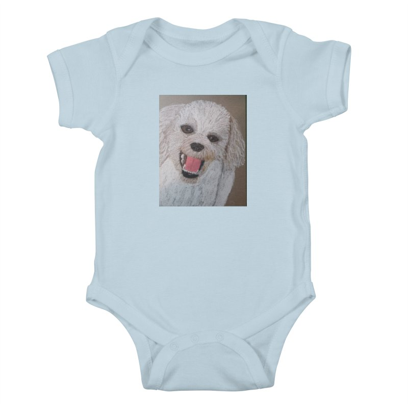 Golden Doodle Kids Baby Bodysuit by Whimsical Wildlife Wares