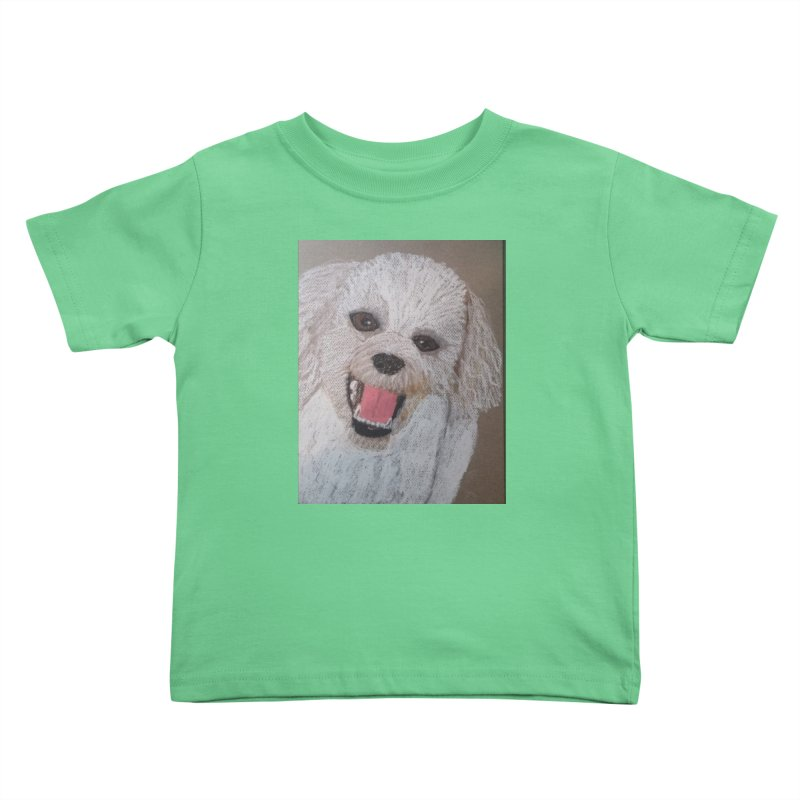 Golden Doodle Kids Toddler T-Shirt by Whimsical Wildlife Wares