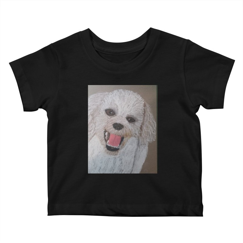 Golden Doodle Kids Baby T-Shirt by Whimsical Wildlife Wares