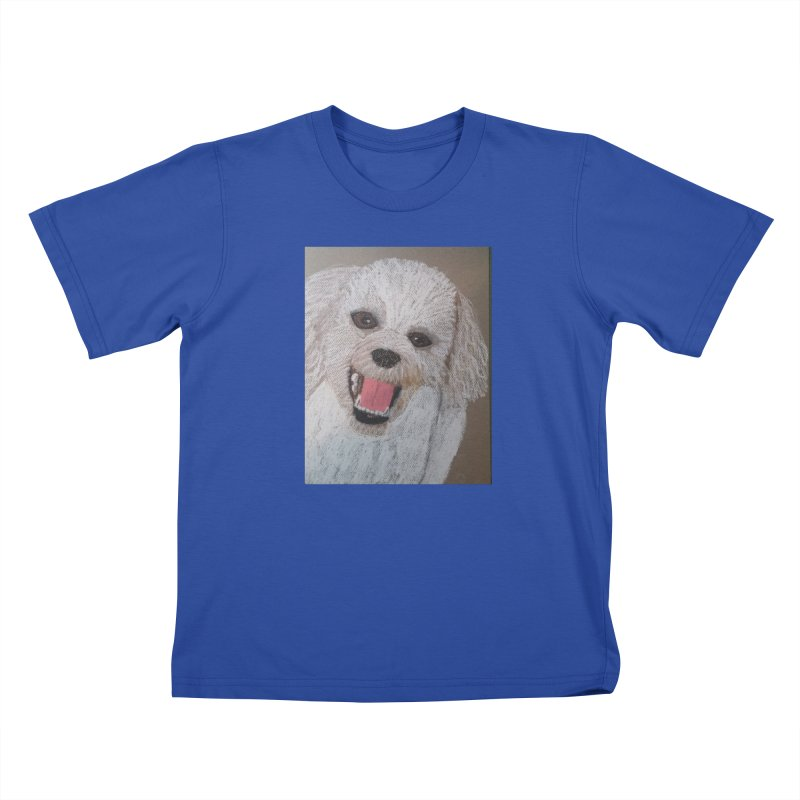 Golden Doodle Kids T-shirt by Whimsical Wildlife Wares
