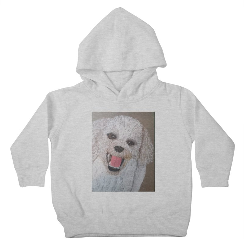 Golden Doodle Kids Toddler Pullover Hoody by Whimsical Wildlife Wares