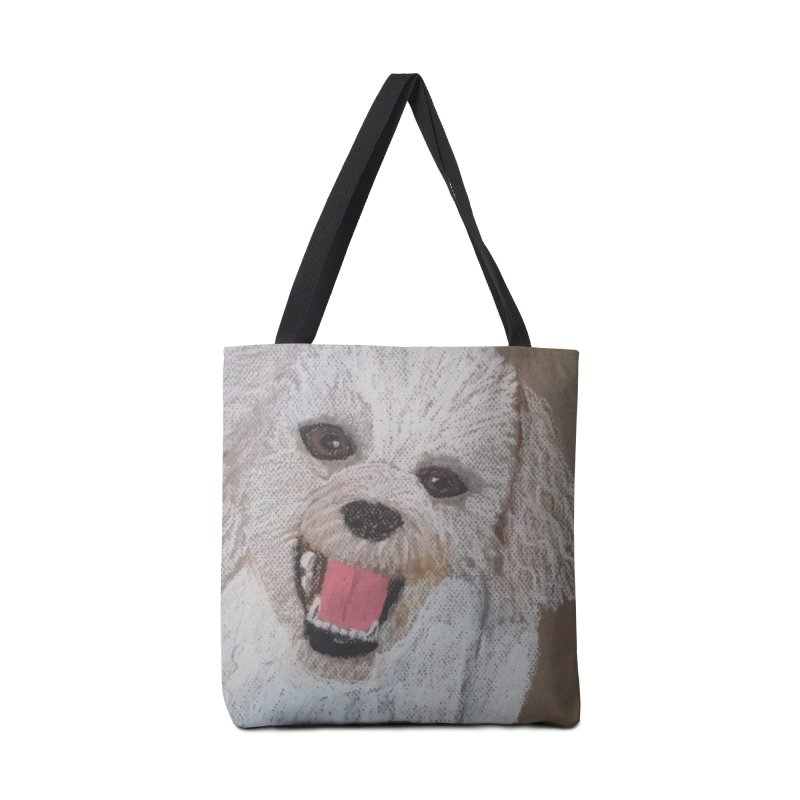 Golden Doodle Accessories Bag by Whimsical Wildlife Wares