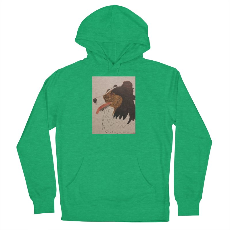 Sheltie/Border collie Men's Pullover Hoody by Whimsical Wildlife Wares