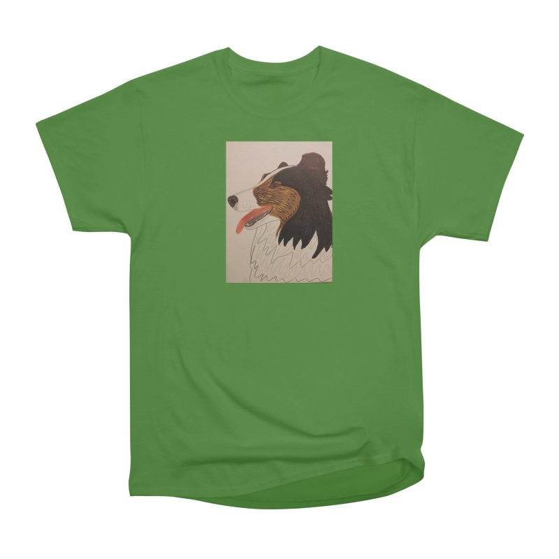 Sheltie/Border collie Women's Classic Unisex T-Shirt by Whimsical Wildlife Wares