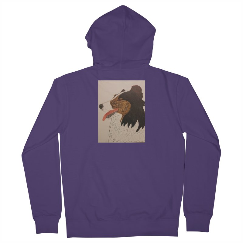 Sheltie/Border collie Women's Zip-Up Hoody by Whimsical Wildlife Wares