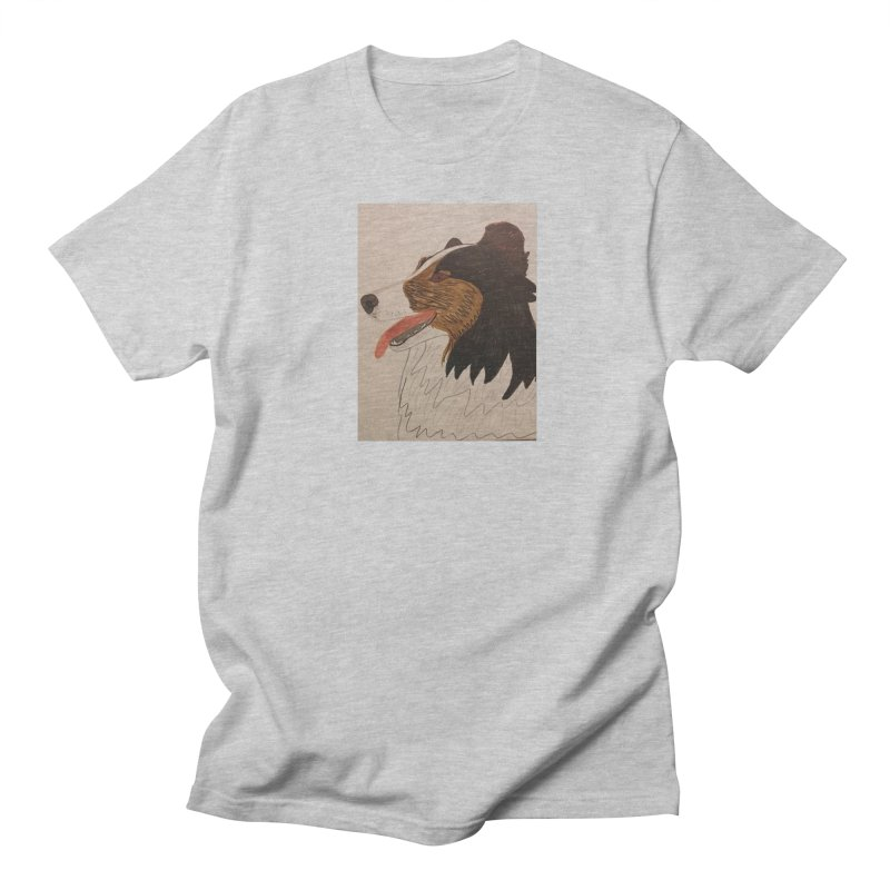 Sheltie/Border collie Women's Unisex T-Shirt by Whimsical Wildlife Wares