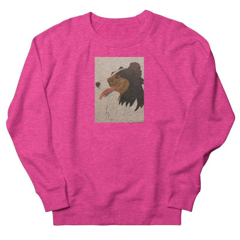 Sheltie/Border collie Men's Sweatshirt by Whimsical Wildlife Wares