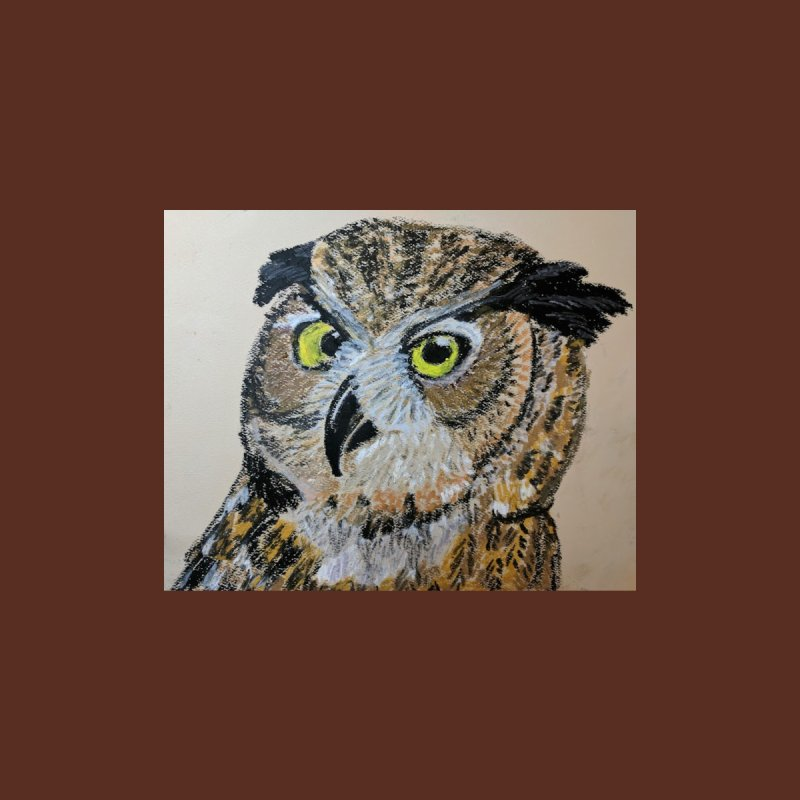 Great Horned Owl by Whimsical Wildlife Wares