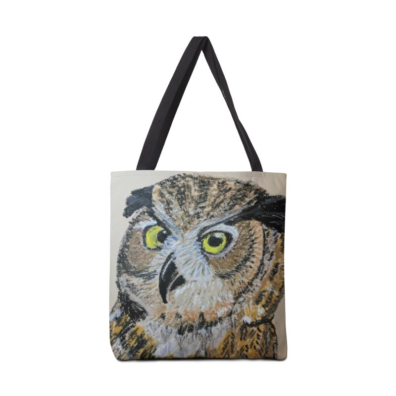 Great Horned Owl Accessories Bag by Whimsical Wildlife Wares