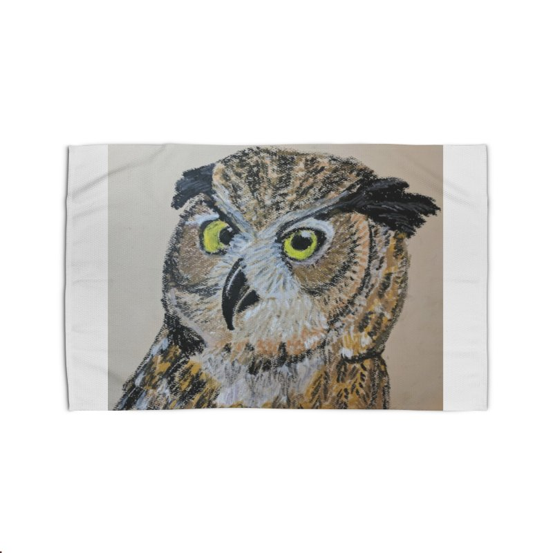 Great Horned Owl Home Rug by Whimsical Wildlife Wares