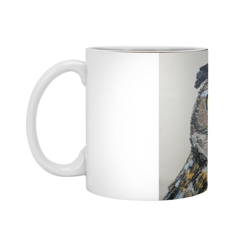 Great Horned Owl Accessories Mug by Whimsical Wildlife Wares