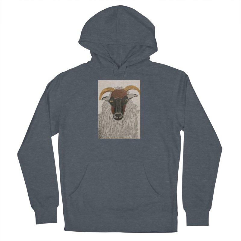 Irish sheep Men's Pullover Hoody by Whimsical Wildlife Wares