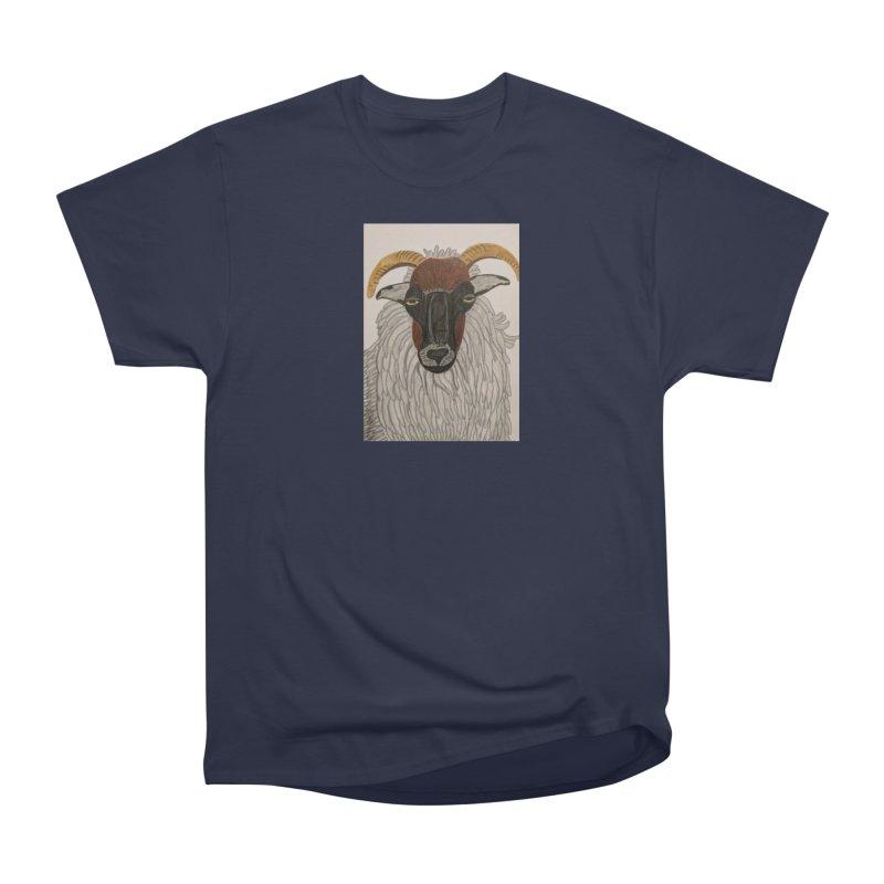 Irish sheep Women's Classic Unisex T-Shirt by Whimsical Wildlife Wares