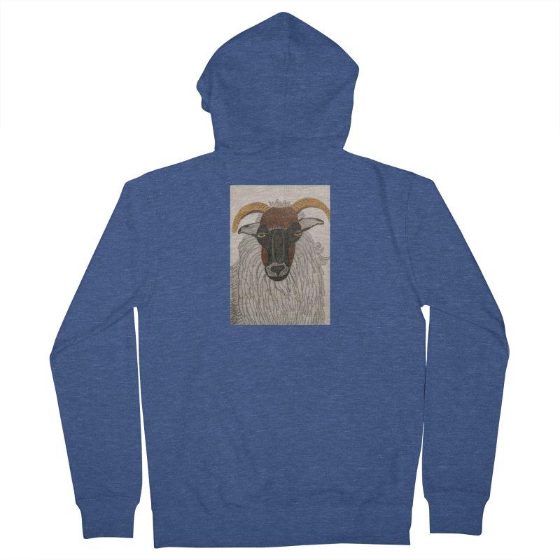 Irish sheep Women's Zip-Up Hoody by Whimsical Wildlife Wares