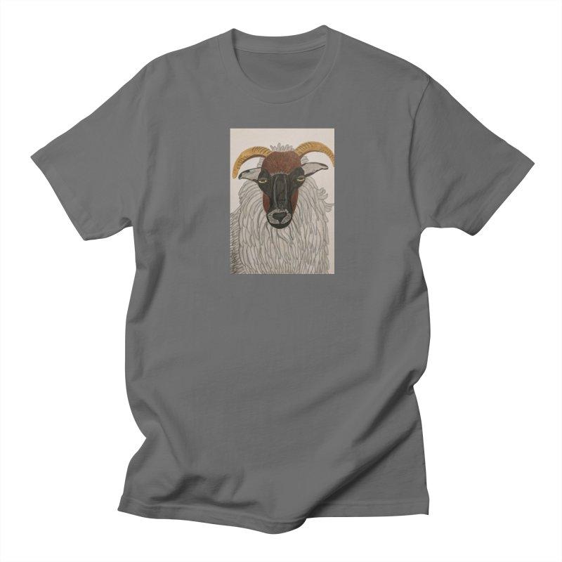Irish sheep Women's Unisex T-Shirt by Whimsical Wildlife Wares
