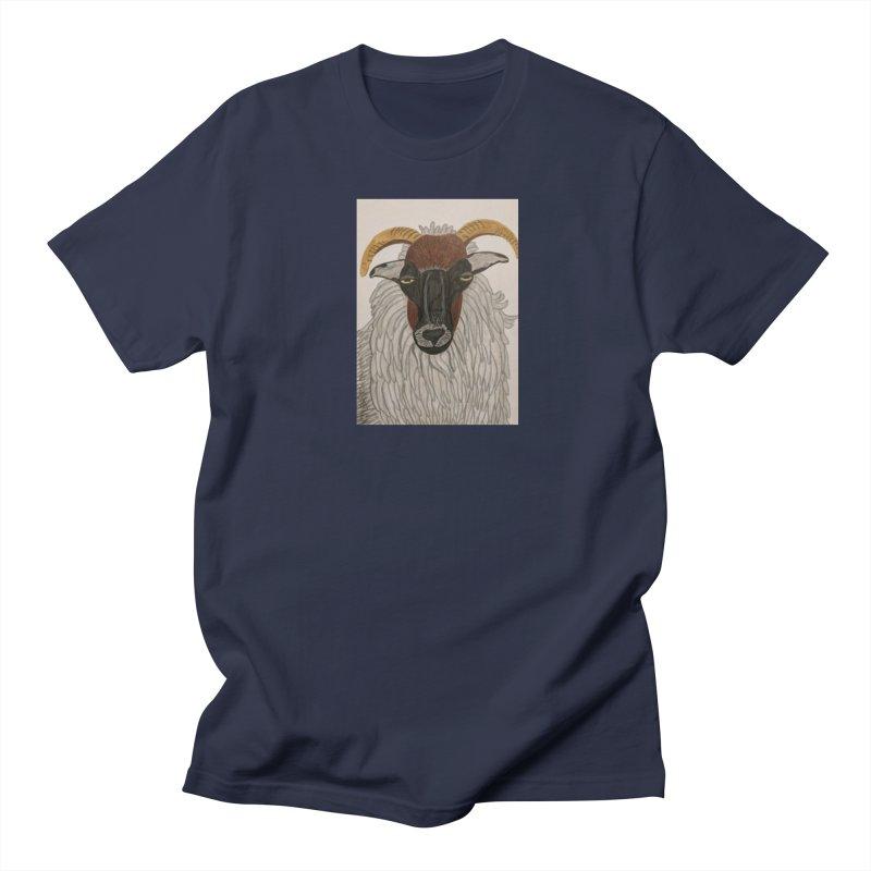Irish sheep Men's T-Shirt by Whimsical Wildlife Wares