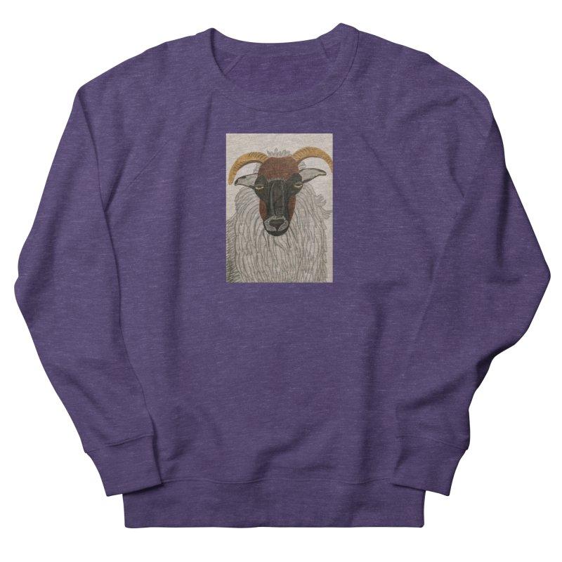 Irish sheep Women's Sweatshirt by Whimsical Wildlife Wares