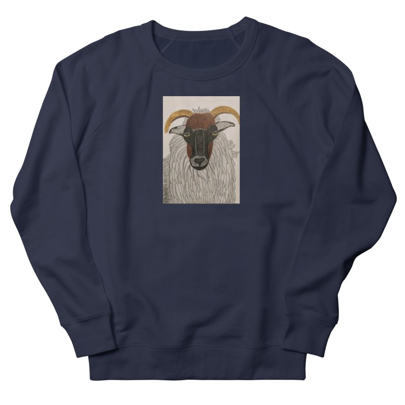 Irish sheep Women's Sweatshirt by Whimsical Wildlife Wares