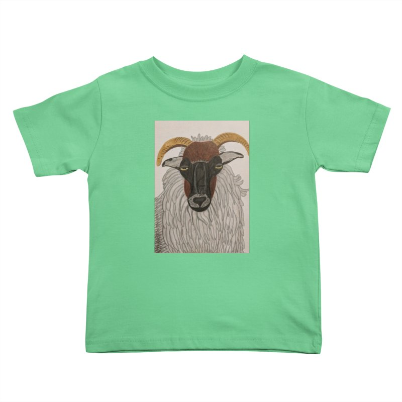 Irish sheep Kids Toddler T-Shirt by Whimsical Wildlife Wares
