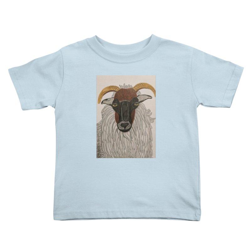 Irish sheep Kids Toddler T-Shirt by Whimsical Wildlife Wares