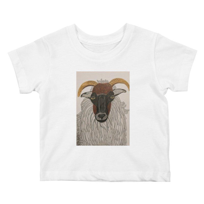 Irish sheep Kids Baby T-Shirt by Whimsical Wildlife Wares