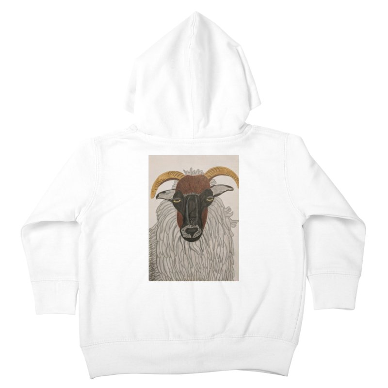 Irish sheep Kids Toddler Zip-Up Hoody by Whimsical Wildlife Wares