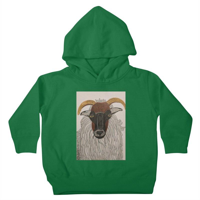 Irish sheep Kids Toddler Pullover Hoody by Whimsical Wildlife Wares