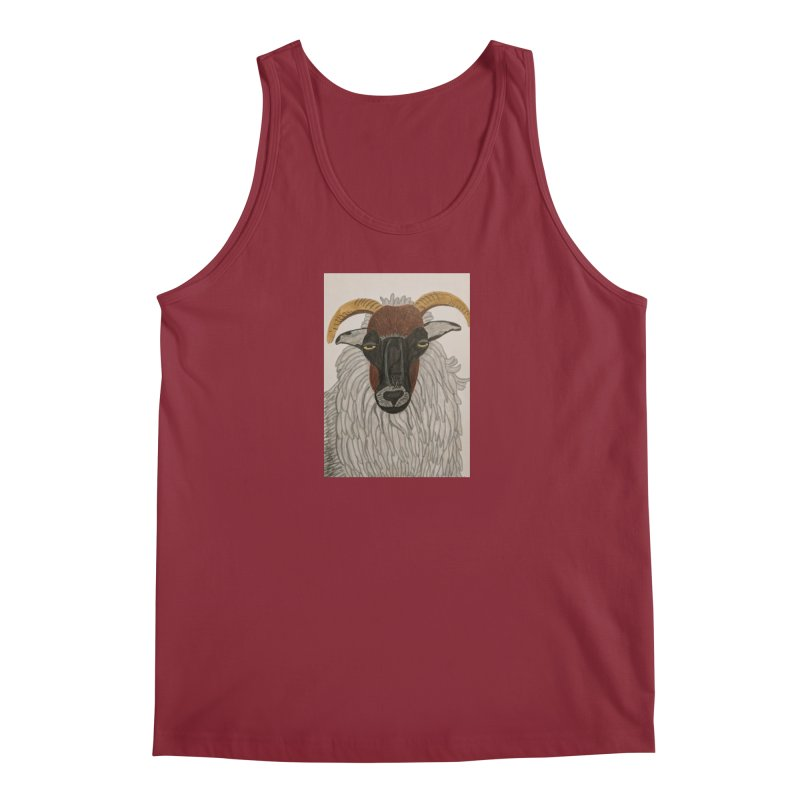 Irish sheep Men's Tank by Whimsical Wildlife Wares