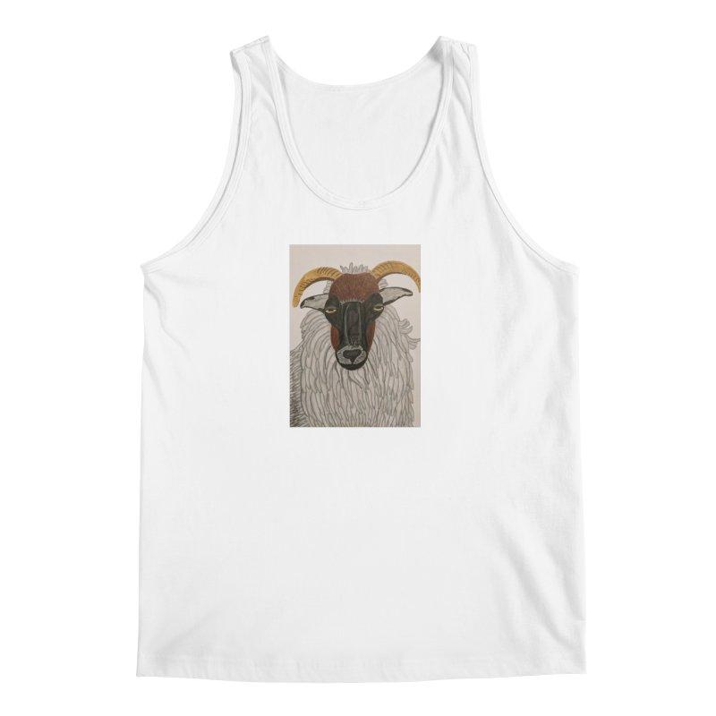 Irish sheep Men's Tank by Whimsical Wildlife Wares