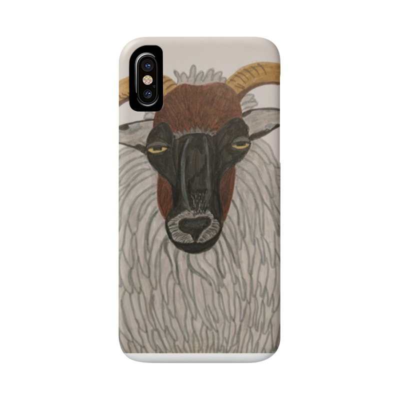 Irish sheep Accessories Phone Case by Whimsical Wildlife Wares