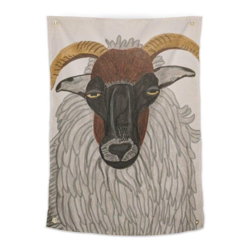 Irish sheep Home Tapestry by Whimsical Wildlife Wares