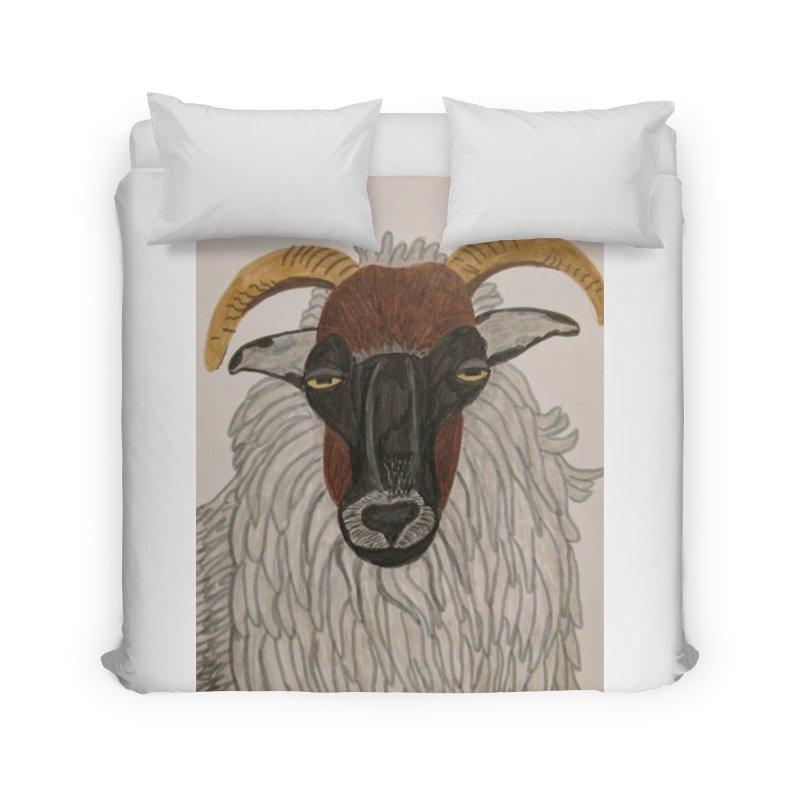 Irish sheep Home Duvet by Whimsical Wildlife Wares