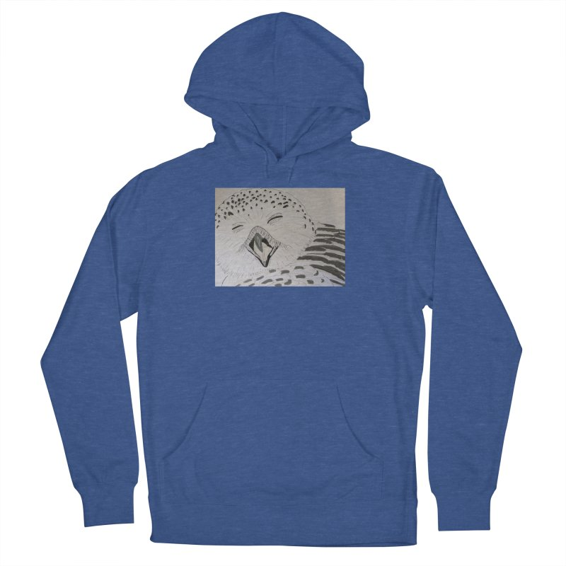 Laughing Owl Women's Pullover Hoody by Whimsical Wildlife Wares