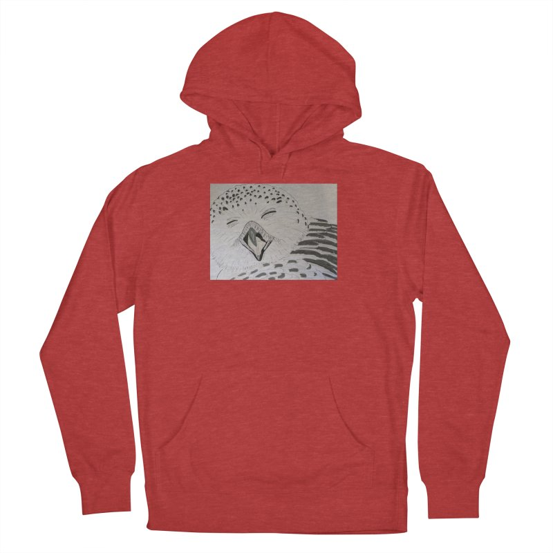 Laughing Owl Men's Pullover Hoody by Whimsical Wildlife Wares