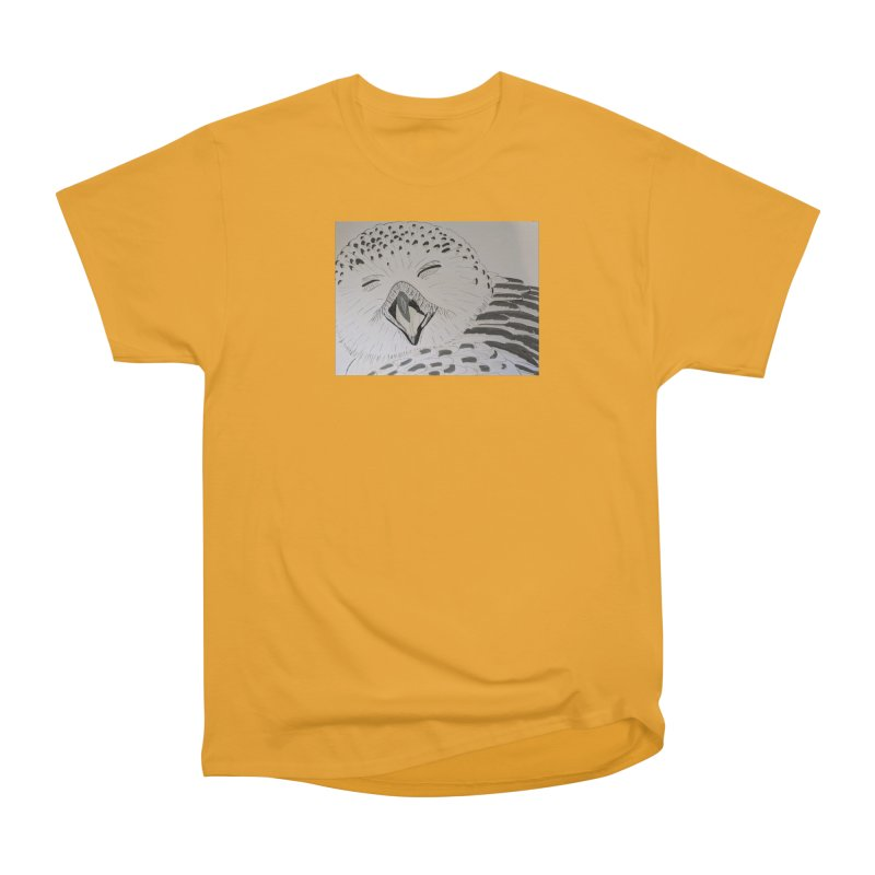 Laughing Owl Men's Classic T-Shirt by Whimsical Wildlife Wares